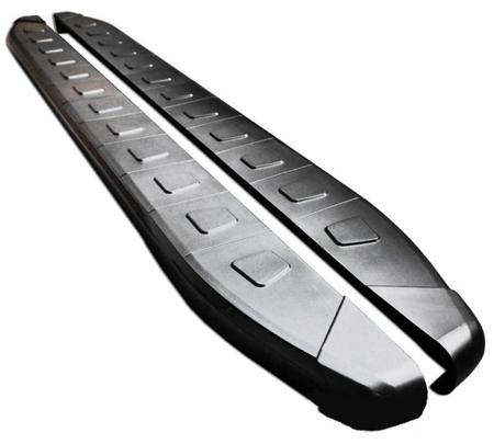 01655956 Stopnie boczne, czarne - Nissan X-Trail T32 2014- (długość: 171 cm)