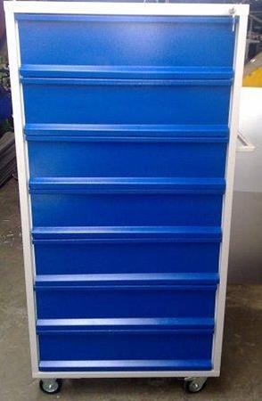 77157358 Wózek narzędziowy, 7 szuflad (wymiary: 1500x800x600 mm)
