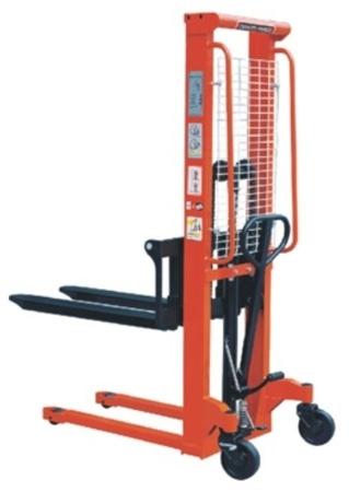 DOSTAWA GRATIS! 00543621 Wózek podnośnikowy ręczny z widłami regulowanymi oraz dodatkowa pompą nożną (udźwig: 2000 kg, min./max. wysokość wideł: 95/1600 mm)
