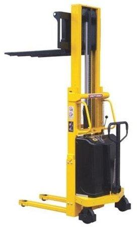 DOSTAWA GRATIS! 00546290 Wózek podnośnikowy półelektryczny (udźwig: 1000 kg, min./max. wysokość wideł: 85/1600 mm)