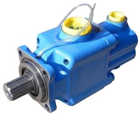 DOSTAWA GRATIS! 01539125 Pompa hydrauliczna tłoczkowa dwustrumieniowa Hydro Leduc (obj. geometryczna: 32+32cm³, prędkość obrotowa: 1500min-1 /obr/min)