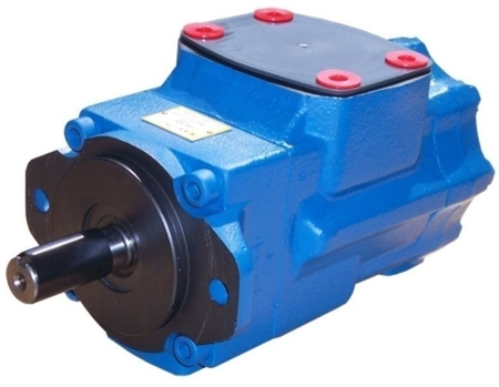 DOSTAWA GRATIS! 01539225 Pompa hydrauliczna łopatkowa dwustrumieniowa B&C (objętość robocza: 79,3 + 37,1 cm³, maks. prędkość: 2200 min-1 /obr/min)