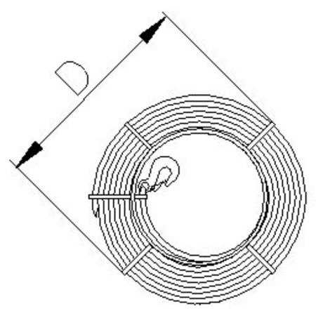 DOSTAWA GRATIS! 2203112 Wciągnik linowy, rukcug 30.00/1.6t (długość liny: 40m, udźwig: 1,6 T)