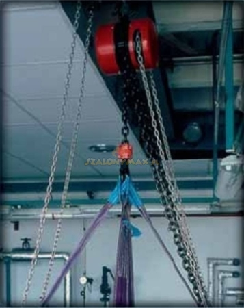 DOSTAWA GRATIS! 2209150 Wciągnik łańcuchowy z przekładnią planetarną Z100/250kg (wysokość podnoszenia: 5m, udźwig: 250 kg)