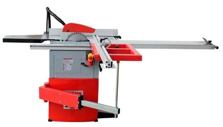 DOSTAWA GRATIS! 44350025 Tarczówka stolarska Holzmann 400V (max średnica brzeszczotu piły: 254 mm, stół roboczy: 800 x 350+270 mm)