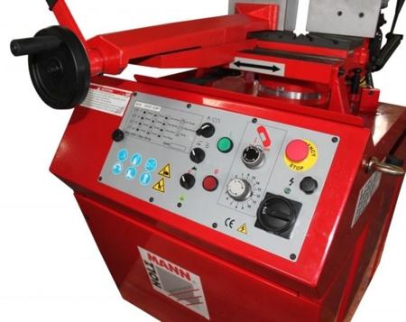 DOSTAWA GRATIS! 44350090 Piła taśmowa do cięcia metalu Holzmann (wymiary taśmy piły: 2750x27x0.9 mm, prędkość cięcia, 2 prędkości: 35 do 70 m/min, moc: 2,1 kW)