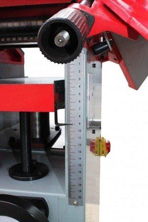 DOSTAWA GRATIS! 44374757 Wyrówniarko-grubościówka Holzmann + magnetyczny przyrząd do ustawiania noży Holzmann 400V (szerokość/wysokość obróbki: 250/245 mm, wymiar stołu: 1085x256 mm)
