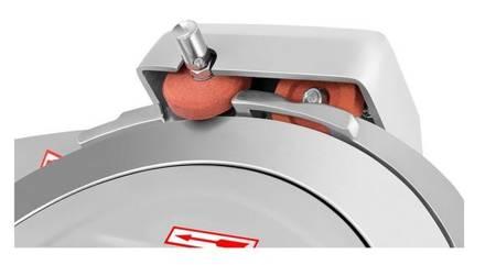 DOSTAWA GRATIS! 45643464 Krajalnica elektryczna do wędlin, mięsa i serów Royal Catering (moc: 180W, średnica noża: 250mm, grubość cięcia: 0-12mm)