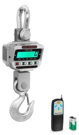 DOSTAWA GRATIS! 45643492 Waga hakowa Steinberg Systems LCD (udźwig: 10T)