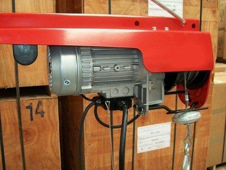 DOSTAWA GRATIS! 55547197 Wciągarka budowlana linowa elektryczna (udźwig: 200 kg, długość liny: 40m)