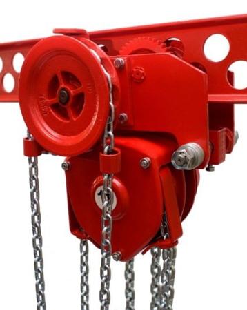 DOSTAWA GRATIS! 9588159 Wciągnik łańcuchowy przejezdny (udźwig: 3,2 T, wysokość podnoszenia: 3m, zakres toru jeznego: 110-170 mm)