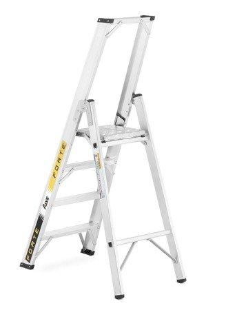 DOSTAWA GRATIS! 99675094 Drabina montażowa jednostronna ALOSS (wysokość robocza: 2,85m)