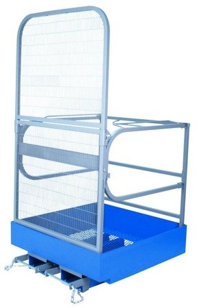Kosz roboczy do wózka widłowego GermanTech (wymiary: 1000x1000 mm) 99746685