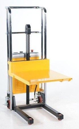 SWARK Wózek paletowy/platformowy podnośnikowy elektryczny GermanTech (max wysokość: 85-1200 mm, udźwig: 400 kg, długość wideł: 650 mm) 99724819