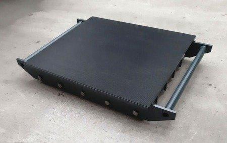Stalmechon Wózek stały do transportu maszyn, urządzeń i sprzętu (rolki: 20x stal, nośność: 44 ton) 50276372