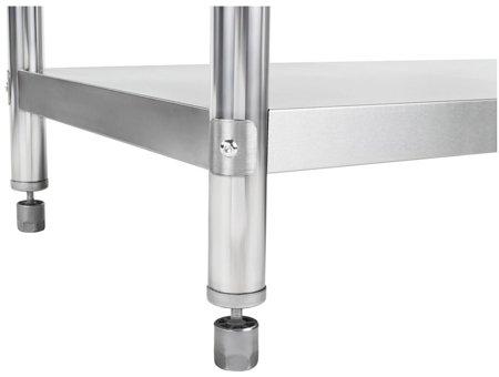 Stół roboczy ze stali nierdzewnej z kantem Royal Catering (wymiary: 60 x 180 x 96,4 cm) 45643454