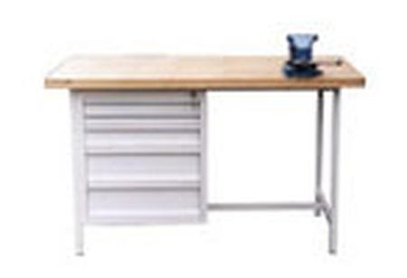 Stół warsztatowy, 5 szuflad (wymiary: 2000x750x900 mm) 77156853