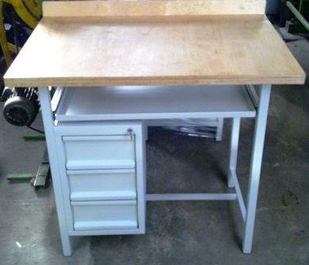 Stół warsztatowy specjalny, 3 szuflady (wymiary: 1200x800x1100 mm) 77156995