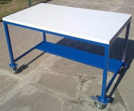 Stół warsztatowy z kółkami (wymiary: 1200x700x750 mm) 77156930