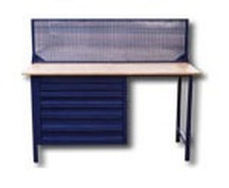 Stół warsztatowy z niską nadbudowa (wymiary: 1500x750x900 mm) 77156887