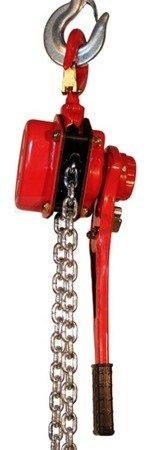 Wciągnik łańcuchowy ręczny dźwigniowy (udźwig: 9000 kg, długość łańcucha: 1,5m) 03076112