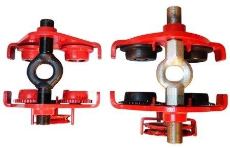 Wózek ręczny jezdny z łańcuszkiem i napędem (udźwig: 0,5 T, szerokość belki jezdnej: 160-300 mm, wysokość łańcucha manewrowego: 3m) 03076127